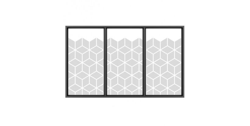 Vinile Adesivo Geometrico per Vetri