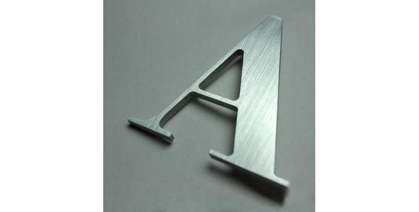 Lettera in Alluminio