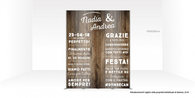 Photo Booth di Legno
