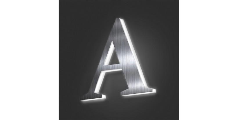 Lettere Scatolate in Alluminio Retroilluminate