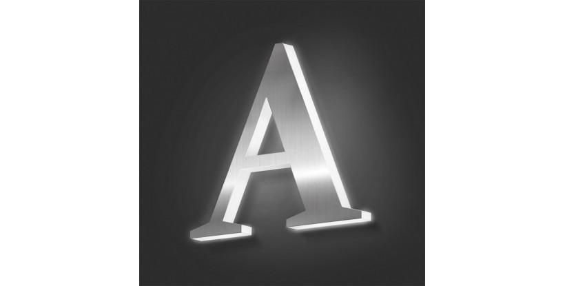 Lettere in Acciaio con Plexiglass Luminoso