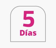 5 días